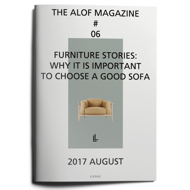 #06ALOF MAGAZINEfurniture stories